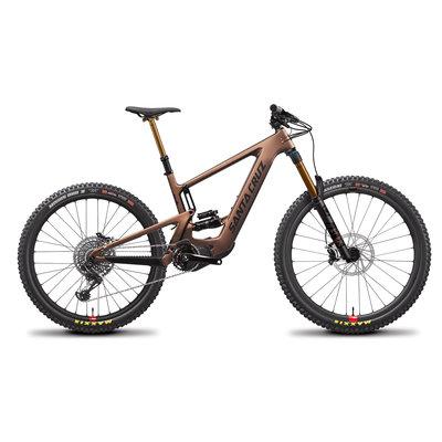 SANTA CRUZ  BICYCLES 2021 SANTA CRUZ BICYCLES BULLIT 3 CC X01 SDU MATTE COPPER MD