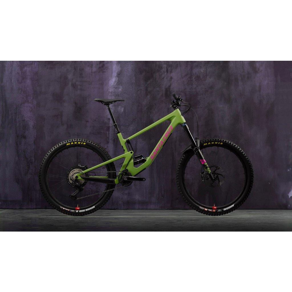 SANTA CRUZ  BICYCLES 2021 SCB SANTA CRUZ BICYCLES NOMAD 5 C MD GRN XT