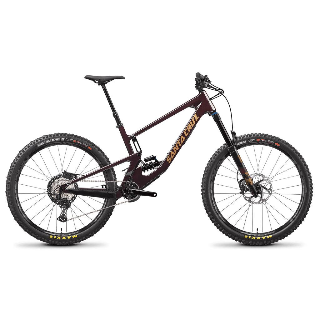 SANTA CRUZ  BICYCLES 2021 SCB SANTA CRUZ BICYCLES NOMAD 5 C LG OXBLD XT