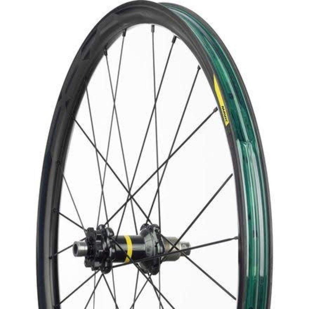 "WHEEL Mavic, XA Pro Carbon WTS, Wheel, Front, 29"", 24 spokes, 15x110mm TA,"