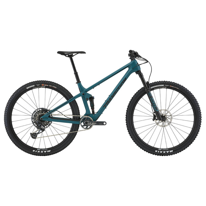 Transition Bikes 2021 TRANSITION SPUR X01 DEEP SEA GREEN LG