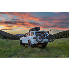 "Kuat CAR RACK KUAT NV 2.0  2-Bike - Black/Grey Anodize 2"" Receiver"