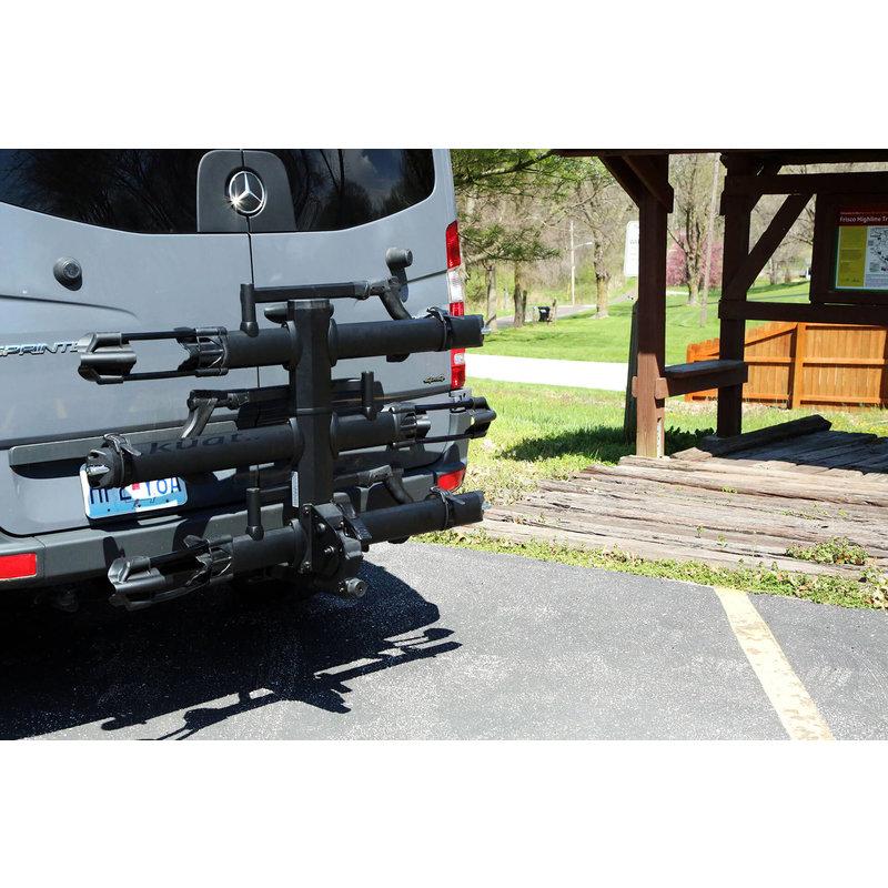 Kuat CAR RACK Kuat NV 2.0 Base +2-Bike Tray Add-on Rack MATTE BLACK
