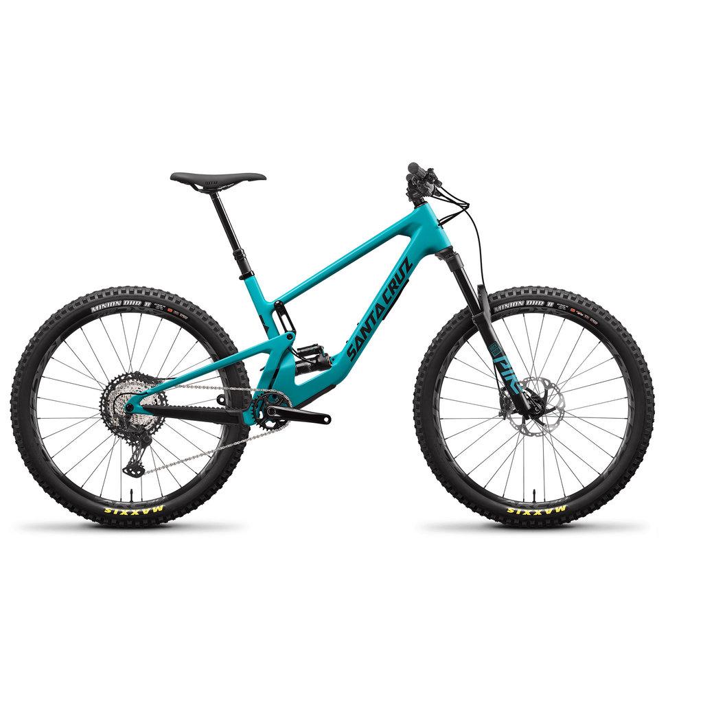 SANTA CRUZ  BICYCLES 2021 SANTA CRUZ 5010 4.0 C XT-KIT LG BLUE