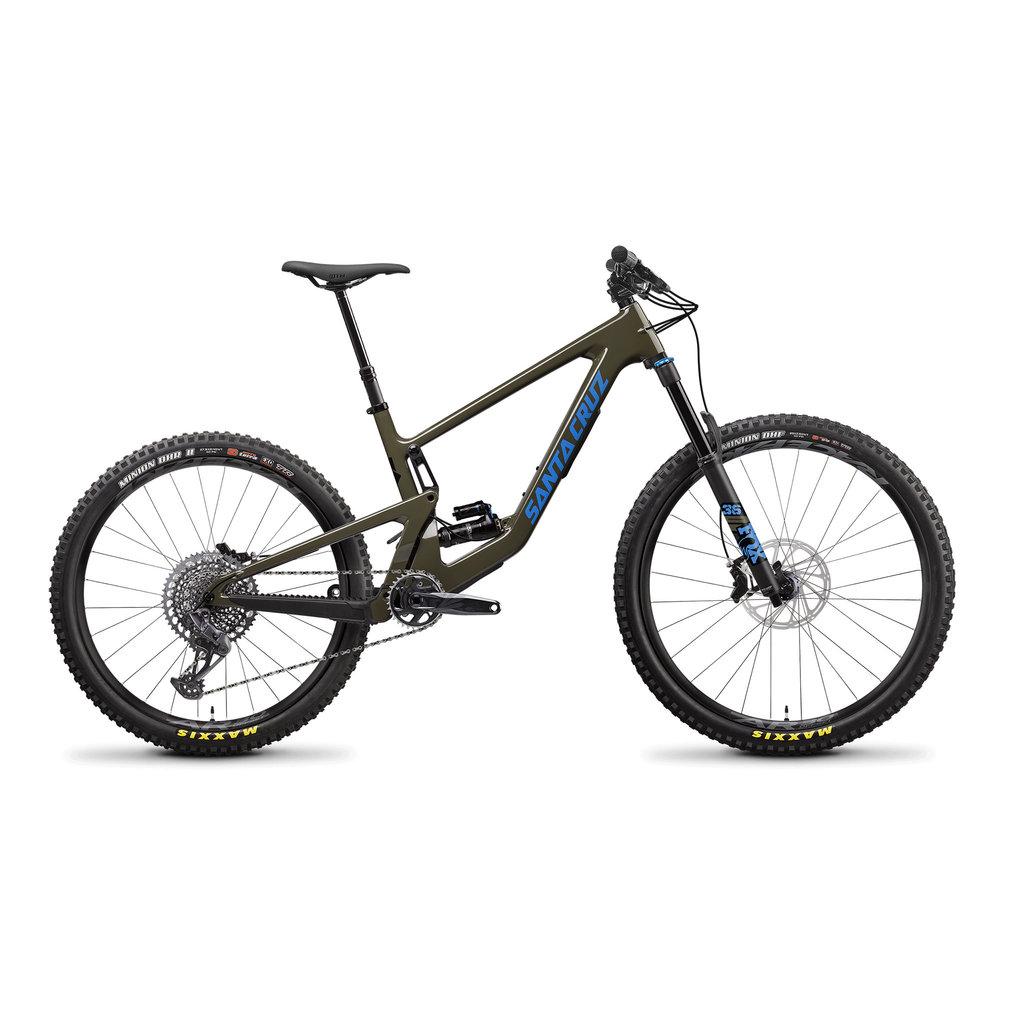 SANTA CRUZ  BICYCLES 2022 SANTA CRUZ BICYCLES BRSN 4 C MX  LG MOSS S