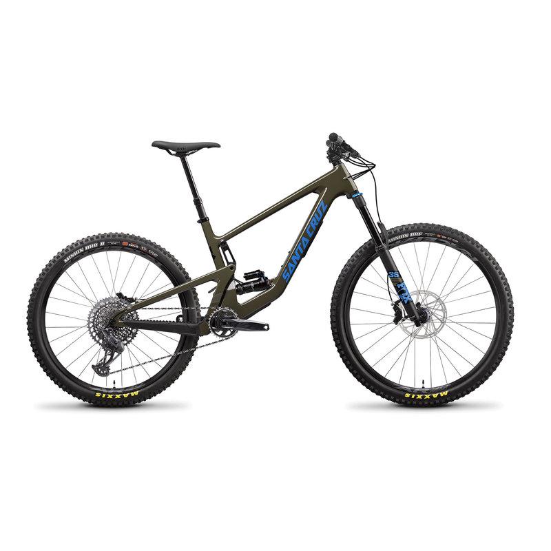 SANTA CRUZ  BICYCLES 2022 SANTA CRUZ BICYCLES BRONSON 4 C MX  LG MOSS S