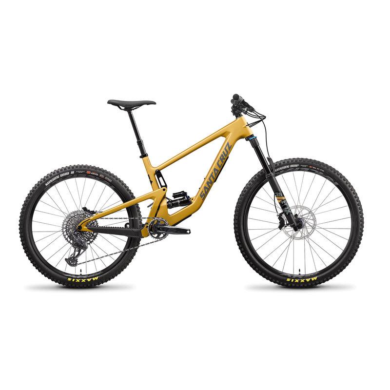 SANTA CRUZ  BICYCLES BRONSON 4 C MX 22 SM STN GLD S