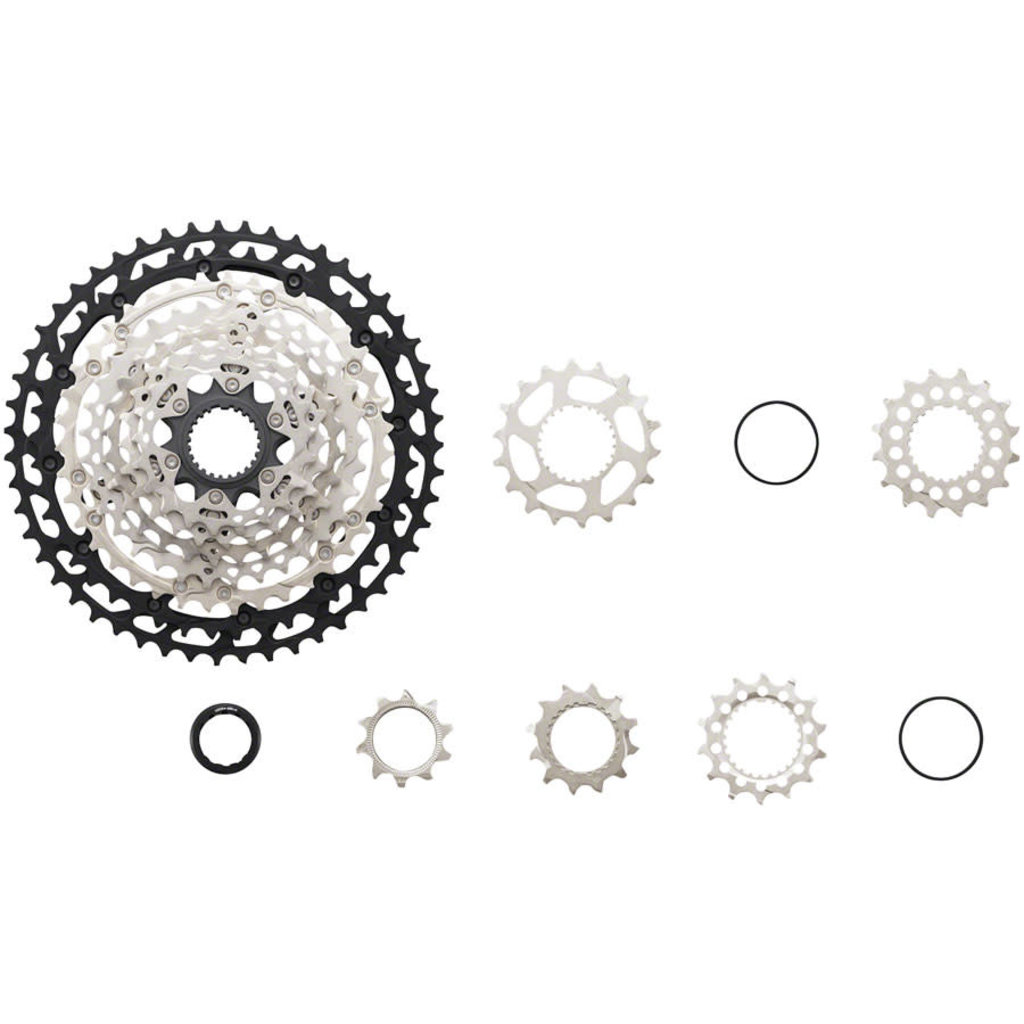 Shimano CASSETTE Shimano XT CS-M8100 - 12-Speed, 10-51t, Silver/Black, Micro Spline