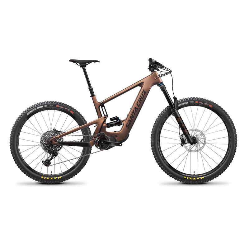 SANTA CRUZ  BICYCLES 2022 SANTA CRUZ BICYCLES BULLIT 3 CC MX 22 MD COPR S-KIT