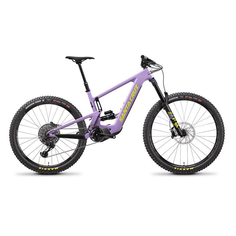 SANTA CRUZ  BICYCLES 2022 SANTA CRUZ BULLIT 3 CC MX 22 LAVENDER S-KIT LG