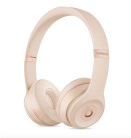 Apple Beats Solo 3 Wireless On-Ear Headphones-Matte Gold