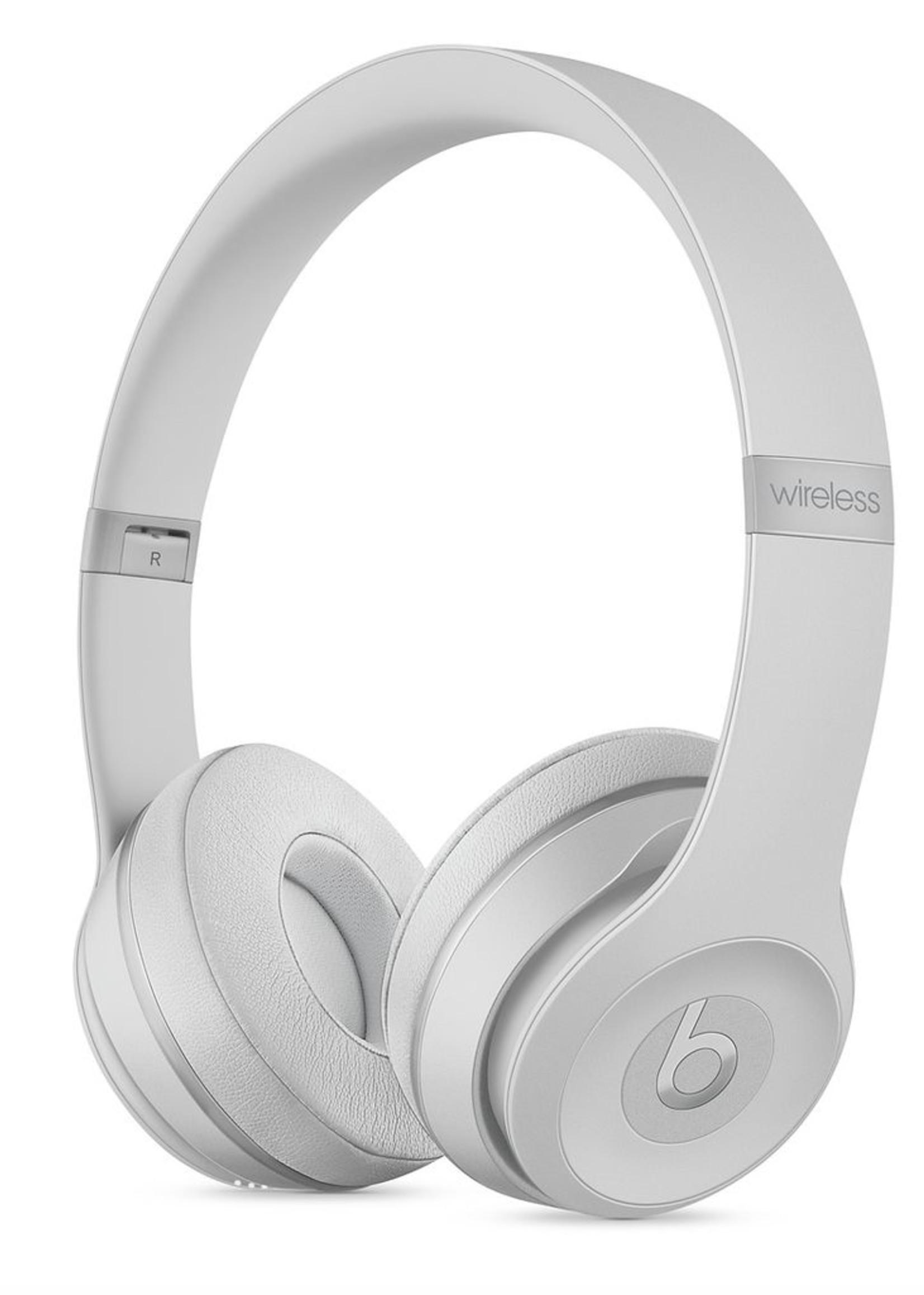Beats Solo 3 Wireless On-Ear Headphones-Matte Silver