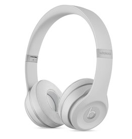 Apple Beats Solo 3 Wireless On-Ear Headphones-Matte Silver