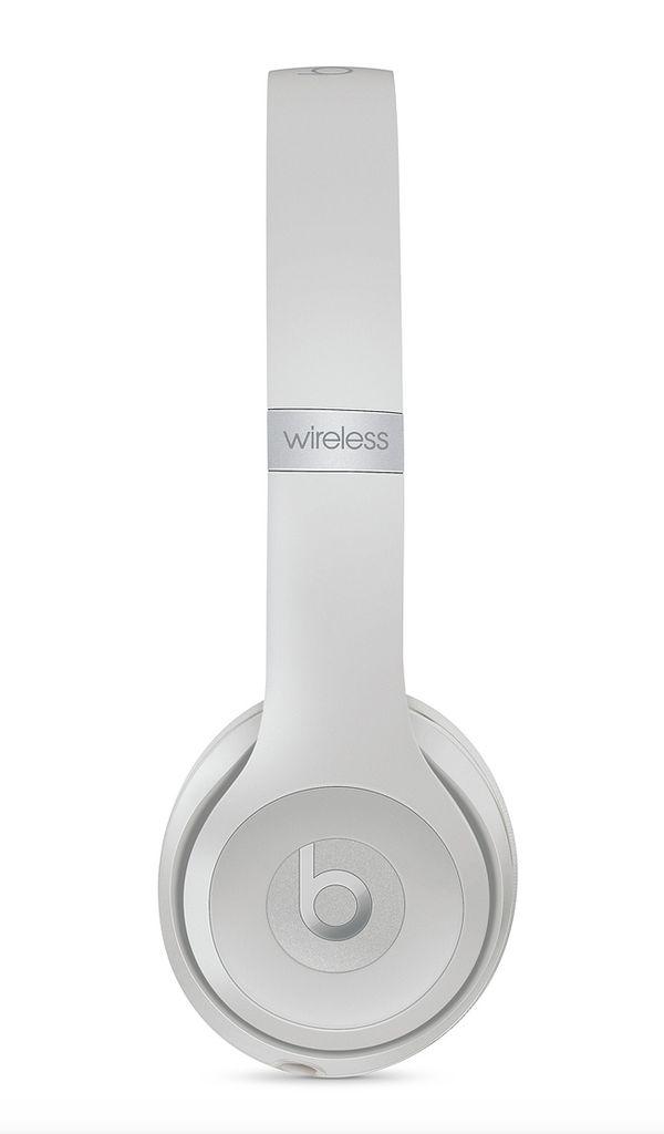 Apple Beats Solo 3 Wireless On-Ear Headphones-Matte Silver