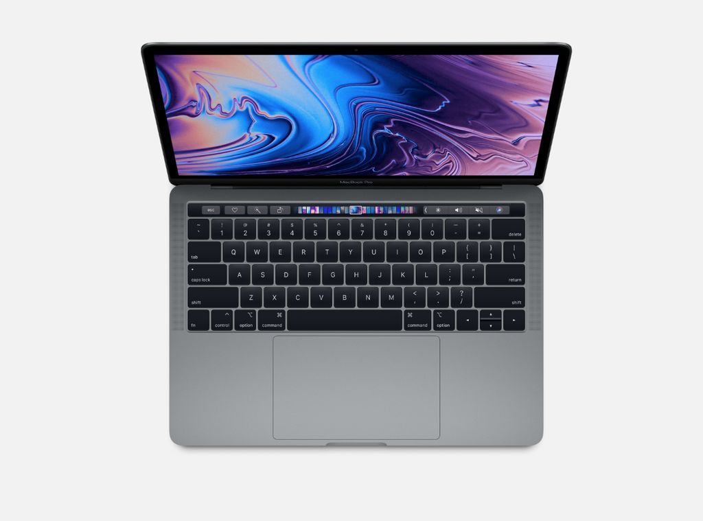 """Apple 2018 13"""" Macbook Pro w/touch 512GB space gray"""