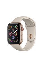 Apple Apple Watch 4 GPS + Cellular, 40 mm Gold Stainless Steel  Case with Stone Sport Band