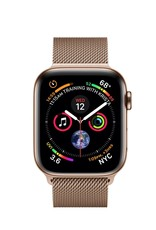 Apple Apple Watch 4 GPS + Cellular, 40mm Gold Stainless Steel Case with Gold milanese