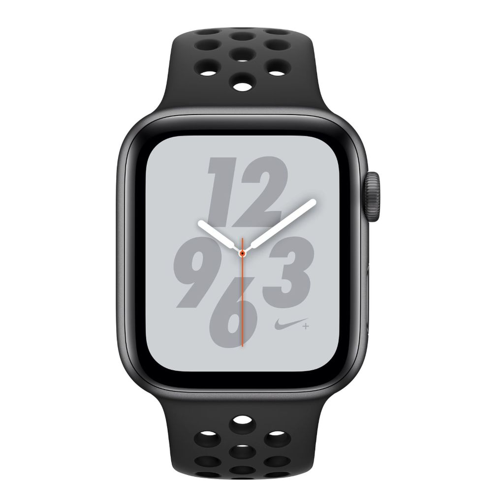 Apple Apple Watch Nike+ Series 4GPS + Cellular, 40mm Space Gray Aluminum Case with Anthracite/Black Nike Sport Band