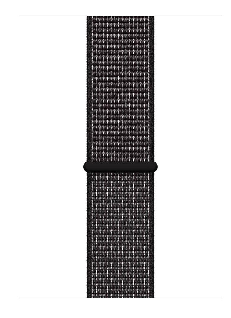 Apple Nike+ Series 4 (GPS) 44mm Space Gray Aluminum Case with Black Nike Sport Loop - Space Gray Aluminum