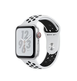 Apple Apple Watch Nike+ Series 4 (GPS + Cellular) 44mm  - Silver Aluminum