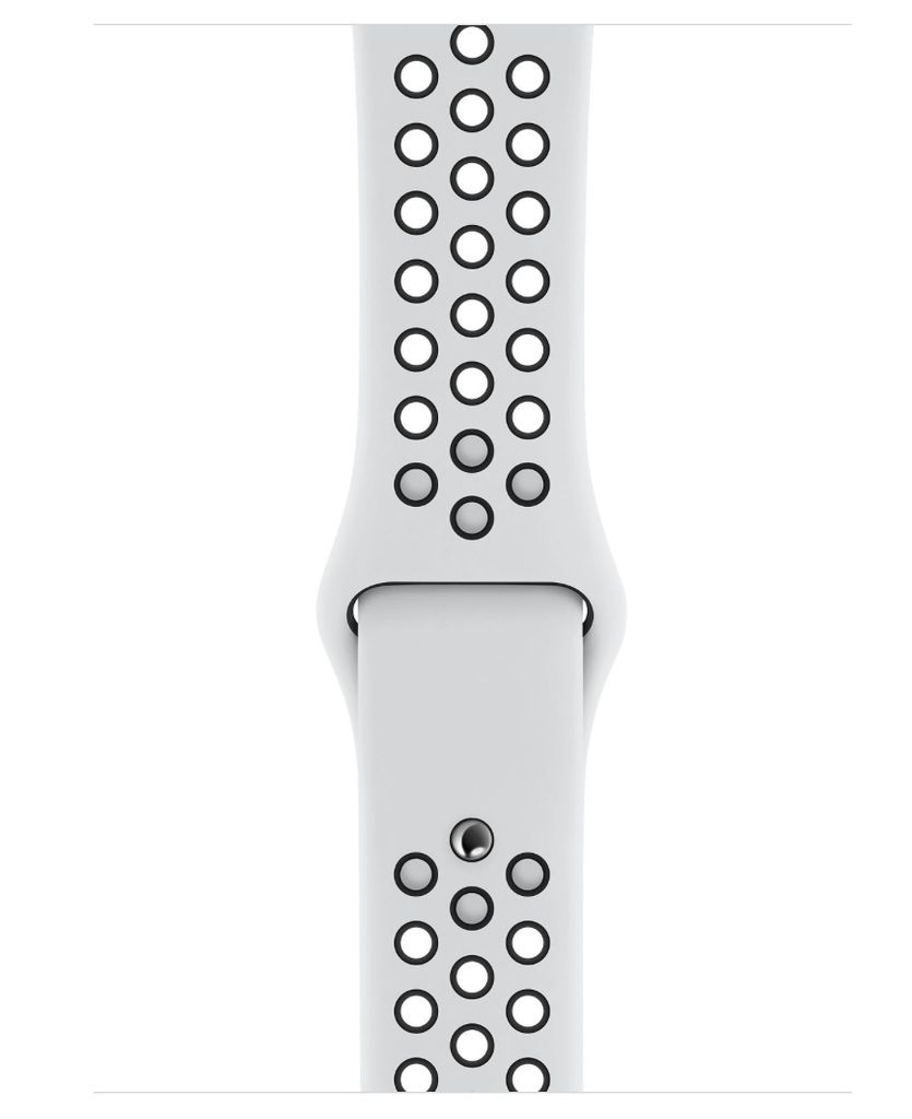 Apple Apple Watch Nike+ Series 4 GPS=Cellular 44mm Silver Aluminum Case w/Pure Platinum/Black Sport Band