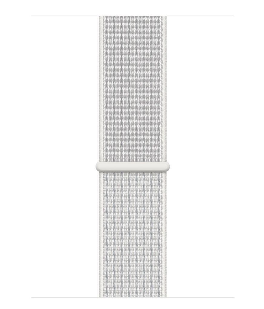 Apple Apple Watch Nike+Cellular 44mm Silver Aluminum w/summit White Nike Sport Loop Band