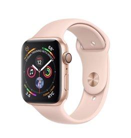 Apple Apple Watch 4 GPS, 40 mm Gold Aluminum Case Pink Sand Sport Band