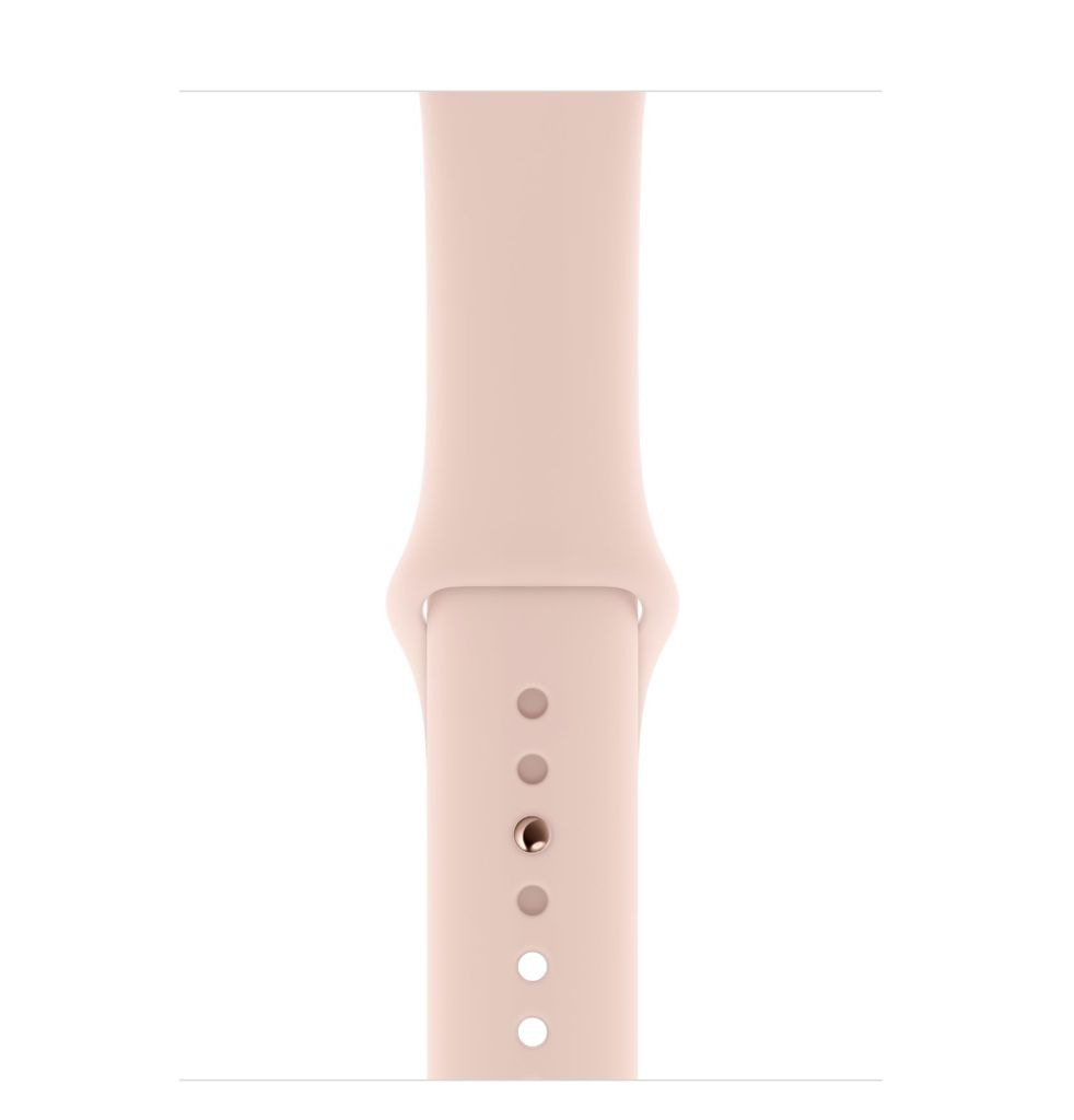 Apple Apple Watch Series 4 GPS 44mm Gold Aluminum Case with Pink Sand Sport Band