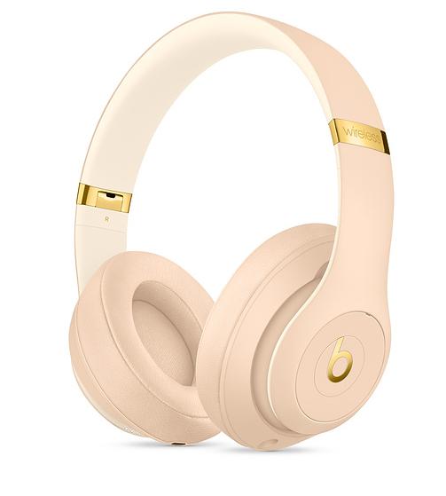 Apple Beats Studio 3 Wireless Over-Ear Headphones - Desert Sand