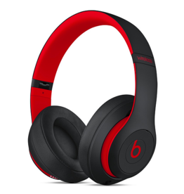 Apple Beats Studio 3 Wireless Over-Ear Headphones - The Beats Decade Collection - Defiant Black/Red