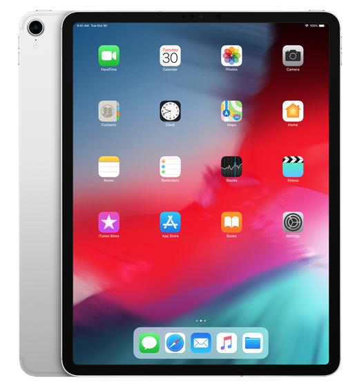 """Apple 12.9"""" iPad Pro - Wi-Fi - 256GB - Silver (3rd Generation)"""