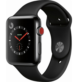 Apple AppleWatch Series 3 GPS + Cellular 38mm Space Black