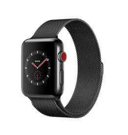 Apple Apple watch series 3 GPS + Cell - 38mm - stainless steel