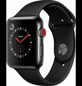 Apple AppleWatch Series 3 GPS+Cellular - 42mm - Space Black