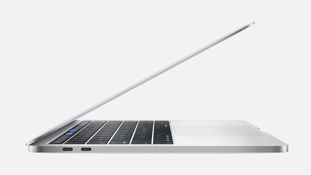 "Apple 13"" MacBook Pro w/ touch bar - 512GB - Silver - 2.4GHz"
