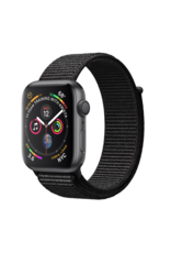 Apple Apple Watch 4 GPS + Cellular 40 mm Space Grey Aluminum Case with Black Sport Loop