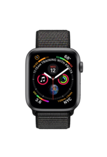 Apple Apple Watch 4 GPS, 40 mm Space Grey Aluminum Case with Black Sport Loop