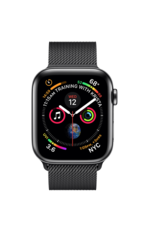 Apple Apple Watch Series 4 GPS + Cellular, 40mm Space Black Stainless Steel Case with Space Black Milanese Loop