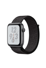 Apple Apple Watch Nike+ Series 4 GPS + Cellular, 40mm Space Gray Aluminum Case with Black Nike Sport Loop