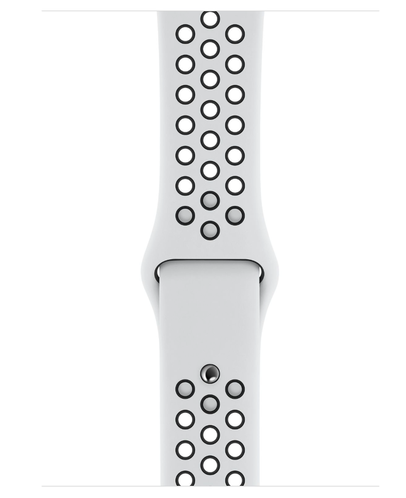 Apple Apple Watch Nike+ Series 4 GPS 40mm Silver Aluminum Case with Pure Platinum/Black Nike Sport Band
