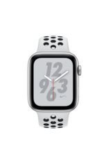 Apple Apple Watch Nike+ Series 4 GPS + Cellular, 40mm Silver Aluminum Case with Pure Platinum/Black Nike Sport Band