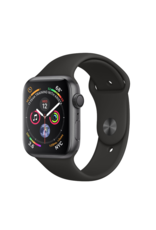 Apple Apple Watch 4 GPS + Cellular, 44mm Space Grey Aluminum Case with Black Sport Band