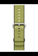Apple 38mm/40mm Dark Olive check woven nylon