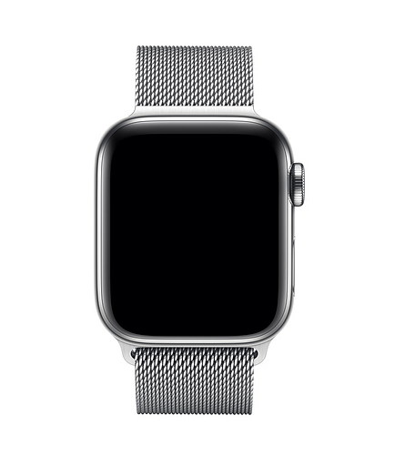 Apple 38mm/40mm Silver Milanese Loop