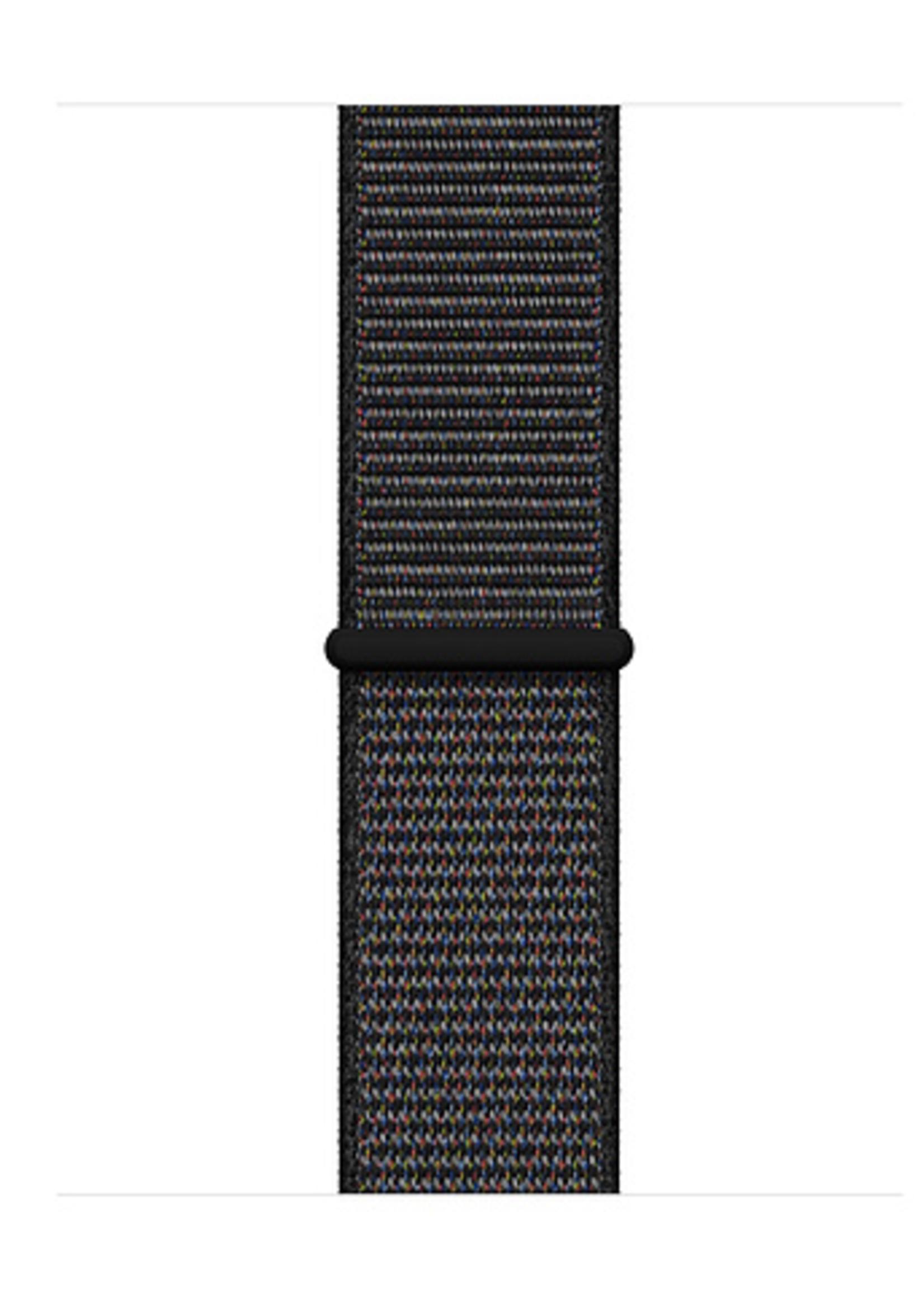 38mm/40mm Black Sport Loop