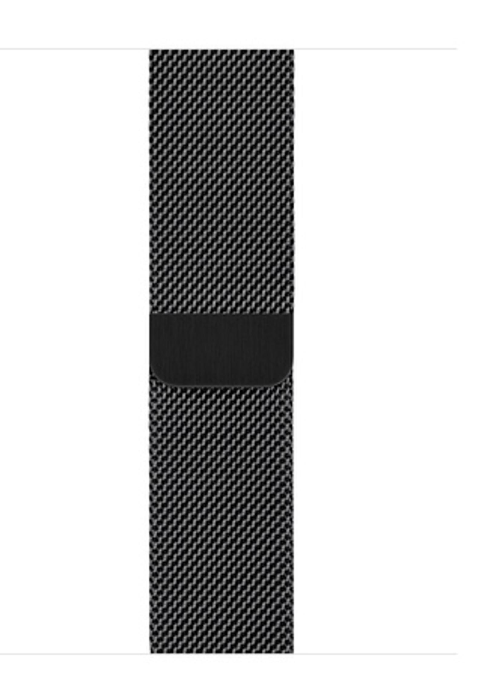38mm/40mm Space Black Milanese Loop