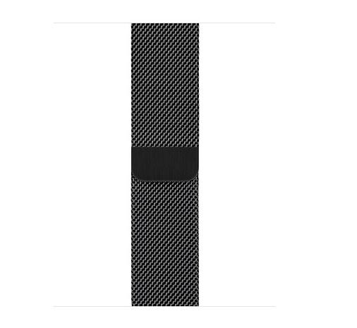 Apple 38mm/40mm Space Black Milanese Loop