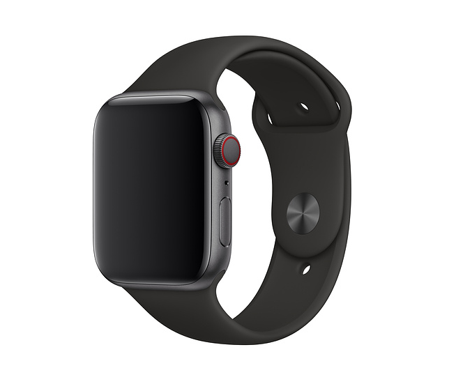 Apple 42mm/44mm black sports band