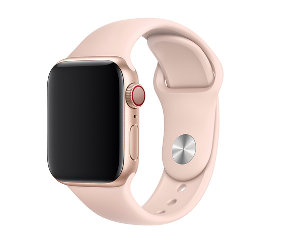 Apple 42mm/44mm Pink Sand Sport Band