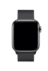 Apple 42mm/44mm Space Black Milanese Loop